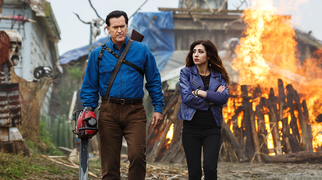 Image of Ash vs evil dead characters, used for The zombie apocalypse guide to remote working pillar page