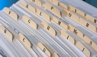 History of HR: filing and administrative work