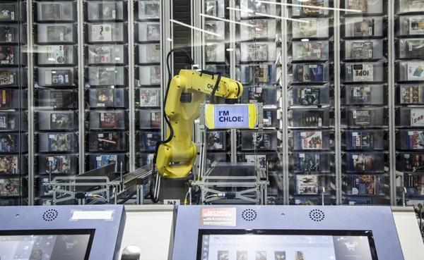 Best Buy business robotics