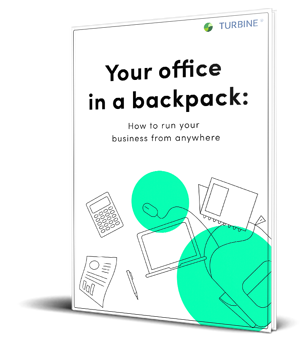 Turbine-Your office in a backpack-mockup ebook