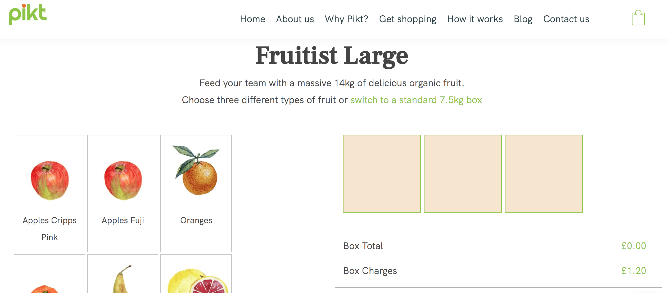 Pikt's 'fruitist' box for offices