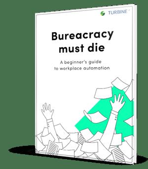 Bureaucracy must die ebook
